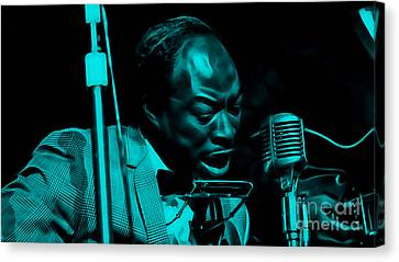 Jimmy Reed Collection Canvas Print by Marvin Blaine