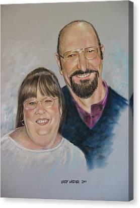 Joe And Patsy Canvas Print
