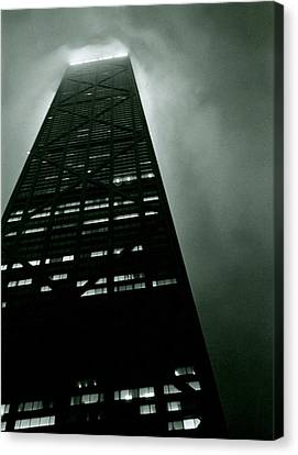 John Hancock Building - Chicago Illinois Canvas Print by Michelle Calkins