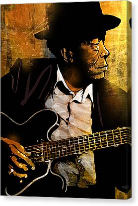 John Lee Hooker Canvas Print by Paul Sachtleben