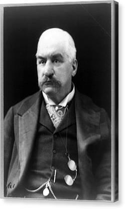 John Pierpont Morgan, Financierbanker Canvas Print by Everett