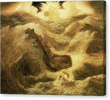 Jonah Canvas Print by Albert Pinkham Ryder