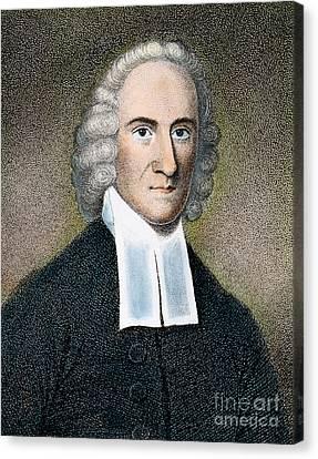 Evangelical Canvas Print - Jonathan Edwards by Granger
