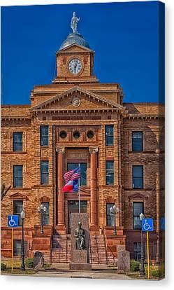 Jones County Courthouse Canvas Print