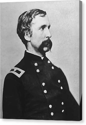 Battle Of Gettysburg Canvas Print - Joshua Lawrence Chamberlain  by War Is Hell Store