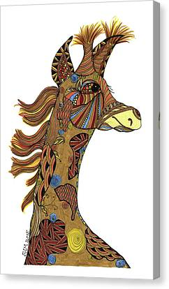 Josi Giraffe Canvas Print