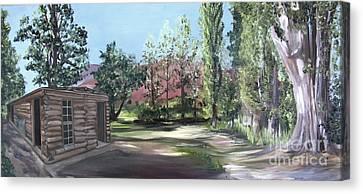 Josie's Cabin Canvas Print