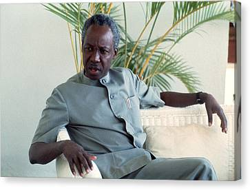 Julius Nyerere Canvas Print