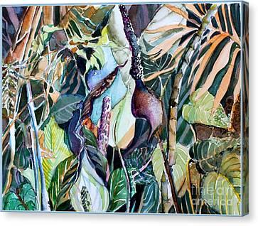 Jungle Beat Canvas Print by Mindy Newman