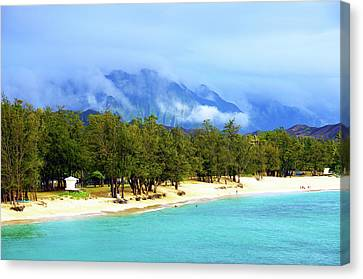 Kailua Beach Hawaii Canvas Print by Kevin Smith