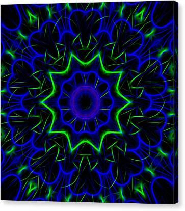 Kaleidoscope 449 Canvas Print