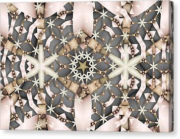 Kaleidoscope 97 Canvas Print by Ron Bissett
