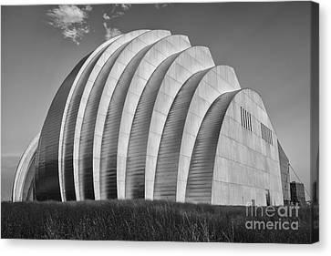 Symphony Hall Canvas Print - Kauffman Center by Dennis Hedberg