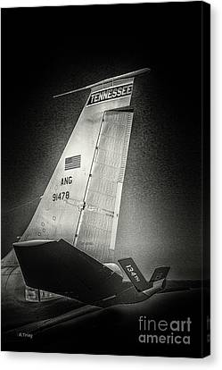 Kc_135 In Flight Refueling Tanker Canvas Print