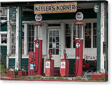 Keeler's Korner Iv Canvas Print