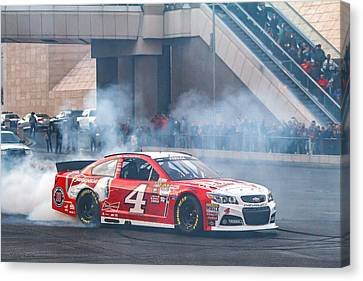 Kevin Harvick  Canvas Print by James Marvin Phelps