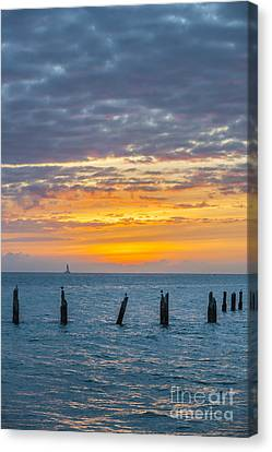 Key West Sunset Canvas Print by Elena Elisseeva