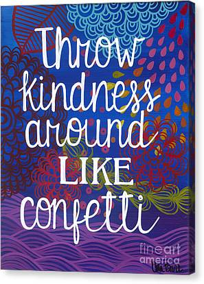 Kindness Canvas Print by Carla Bank