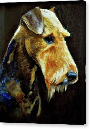 King Of Terriers Canvas Print by Ruben Barbosa