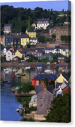 Localities Canvas Print - Kinsale, Co Cork, Ireland Boats And by The Irish Image Collection