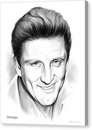 Kirk Douglas Canvas Print