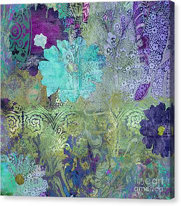 Tapestries - Textiles Canvas Print - Kismet by Mindy Sommers