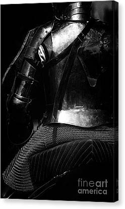 Knights Of Old 15 Canvas Print by Bob Christopher