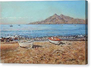 La Isleta Del Moro Canvas Print