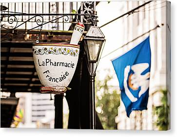 Pestal Canvas Print - La Pharmacie Francaise by Scott Pellegrin