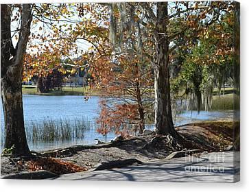 Canvas Print featuring the photograph Lake Bonny by Carol  Bradley