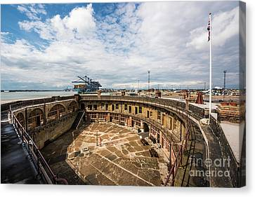 Hidden Canvas Print - Landguard Fort by Svetlana Sewell