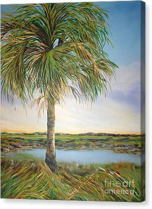 Large Palm Canvas Print by Michele Hollister - for Nancy Asbell