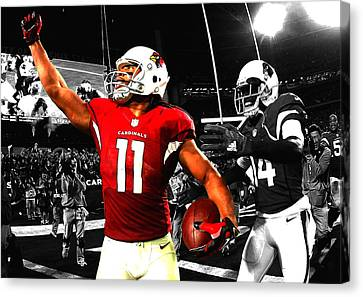 Hightower Canvas Print - Larry Fitzgerald by Brian Reaves