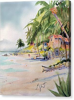 Las Animas Canvas Print by Gertrude Palmer