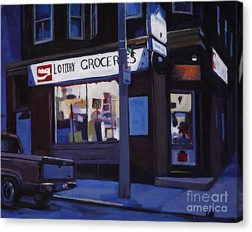 Last Call Canvas Print by Deb Putnam