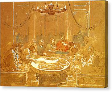 Last Supper Canvas Print by Alexandr Ivanov