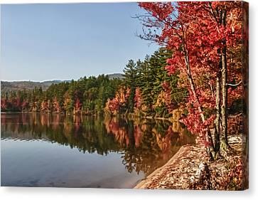 Late Afternoon On Lake Chocorua Canvas Print by Jeff Folger