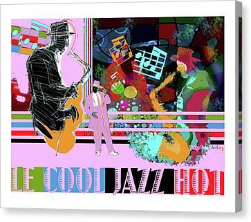 Lecooljazzhot Canvas Print
