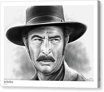 Western Canvas Print - Lee Van Cleef by Greg Joens