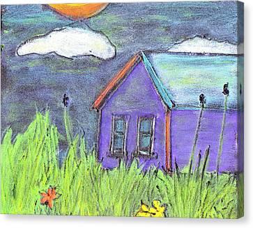 Left Behind Canvas Print by Wayne Potrafka