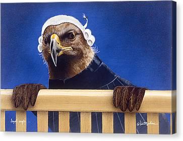 Legal Eagle... Canvas Print