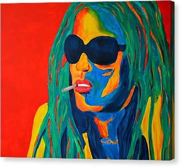 Lenny Canvas Print by Ralf Lura