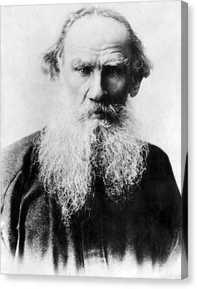 Leo Tolstoy 1828-1910, Russian Writer Canvas Print by Everett