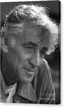 Leonard Bernstein, American Composer Canvas Print