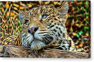 Leopard Canvas Print by Marvin Blaine