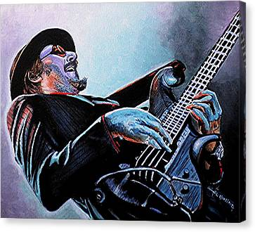 Les Claypool Canvas Print