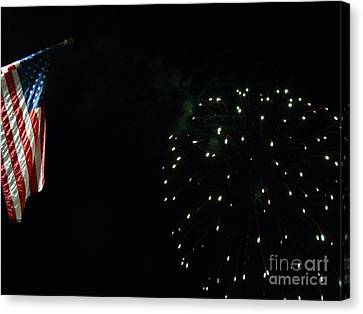 American Independance Canvas Print - Let Freedom Ring by Gina Sullivan