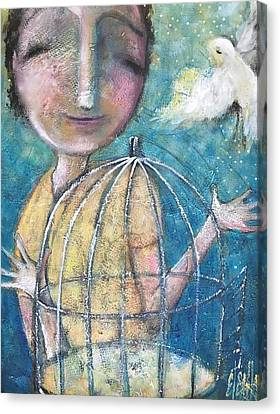 Let It Go Canvas Print by Eleatta Diver