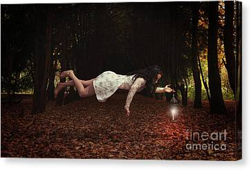 Levitation Canvas Print
