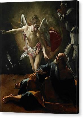 Liberation Of Saint Peter Canvas Print
